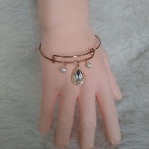 Adjustable Blingy Bracelet Costume One Size